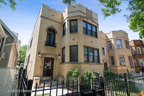 6118 N Campbell, Chicago, IL 60659 West Ridge