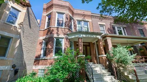 3431 N Leavitt, Chicago, IL 60618 Roscoe Village