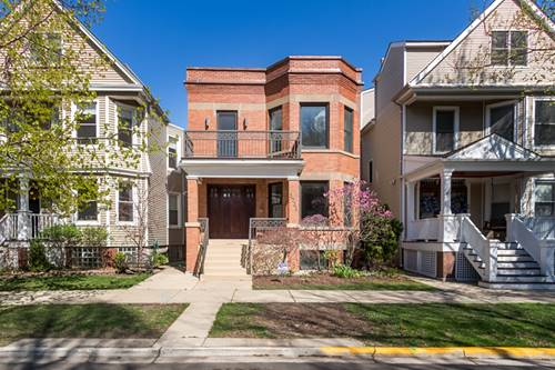 3731 N Bell, Chicago, IL 60618 Northcenter