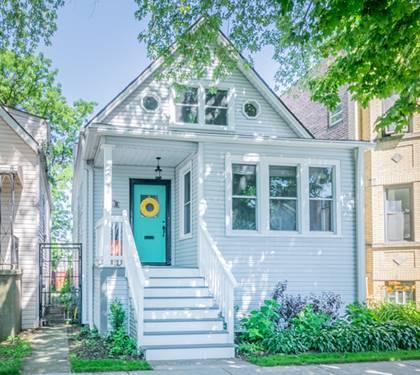 4023 N Sawyer, Chicago, IL 60618 Irving Park