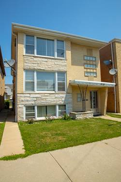 6118 W Gunnison, Chicago, IL 60630 Jefferson Park