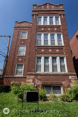 3614 N Greenview Unit G, Chicago, IL 60613 Lakeview