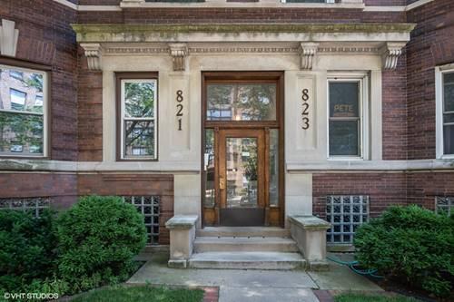 823 W Belle Plaine Unit 2, Chicago, IL 60613