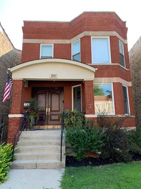 3537 N Oakley, Chicago, IL 60618 Roscoe Village