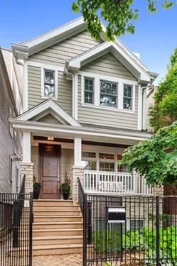 2019 W Melrose, Chicago, IL 60618 Roscoe Village