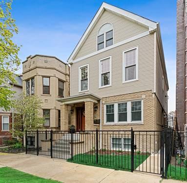 3423 N Oakley, Chicago, IL 60618 Roscoe Village