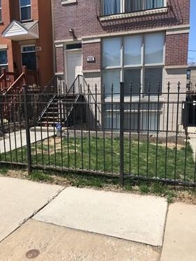 116 S Bell Unit 1, Chicago, IL 60612 Near West Side