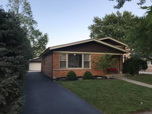 10715 Leclaire, Oak Lawn, IL 60453