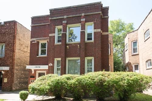 1504 Pitner, Evanston, IL 60201