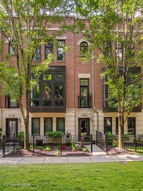 1718 W Surf, Chicago, IL 60657 Lakeview