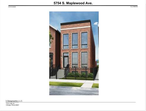 5754 S Maplewood, Chicago, IL 60629 Gage Park