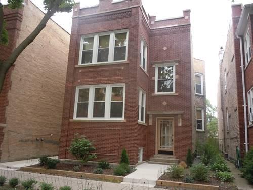 3309 W Cullom Unit GN, Chicago, IL 60618 Irving Park
