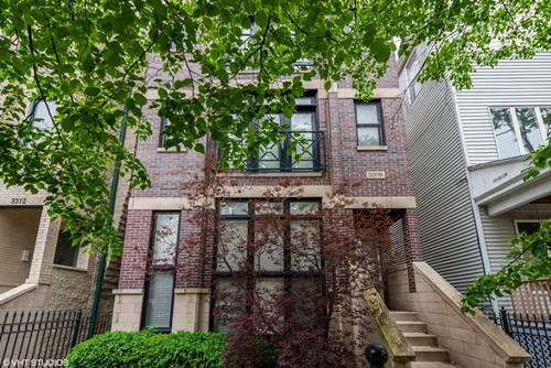 3316 N Clifton Unit 1, Chicago, IL 60657 Lakeview