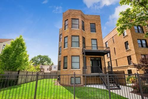 3750 N Bernard Unit 3, Chicago, IL 60618 Irving Park