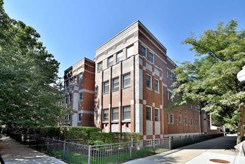 1402 W Byron Unit 1W, Chicago, IL 60613 Lakeview