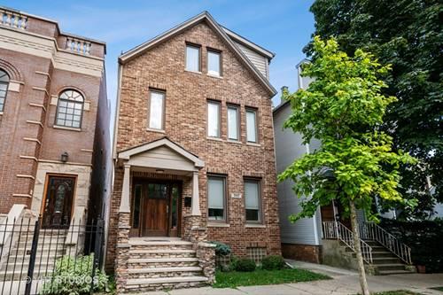3417 N Oakley, Chicago, IL 60618 Roscoe Village