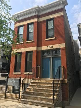 2346 W Mclean Unit 2F, Chicago, IL 60647 Bucktown