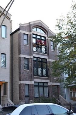3316 N Clifton Unit 3, Chicago, IL 60657 Lakeview