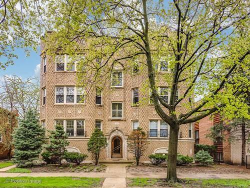 6141 N Francisco Unit 3S, Chicago, IL 60659 West Ridge