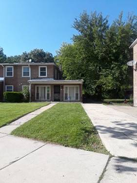 9147 S Burnside, Chicago, IL 60619 West Chesterfield