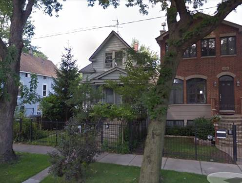 4706 N Avers, Chicago, IL 60625 Albany Park
