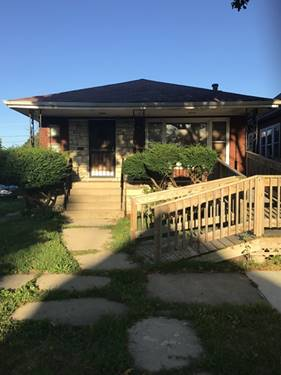 10452 S Eggleston, Chicago, IL 60628 Fernwood