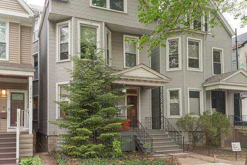 3706 N Hermitage, Chicago, IL 60613 West Lakeview