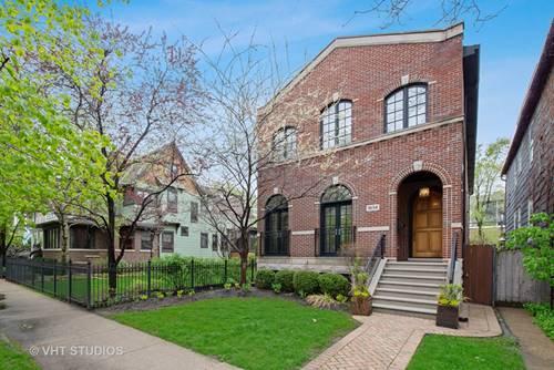 1834 W Larchmont, Chicago, IL 60613 Northcenter