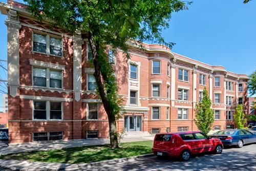 3408 W Parker Unit 3, Chicago, IL 60647 Logan Square
