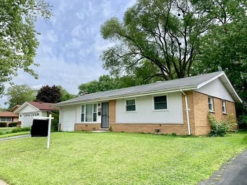 3407 Woodworth, Hazel Crest, IL 60429