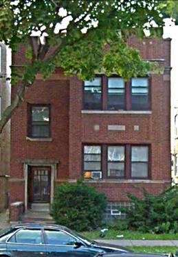 6336 N Fairfield, Chicago, IL 60659 West Ridge