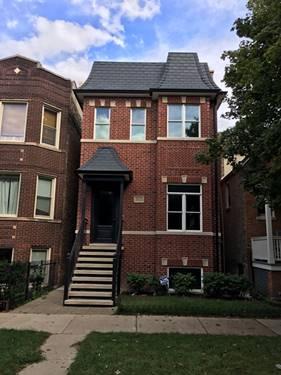 3313 N Oakley, Chicago, IL 60618 Roscoe Village