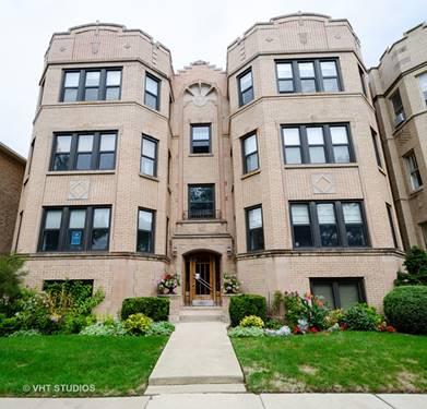 2712 W Greenleaf Unit 3, Chicago, IL 60645 West Ridge