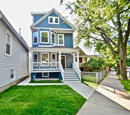 4504 N Keokuk, Chicago, IL 60630 Mayfair