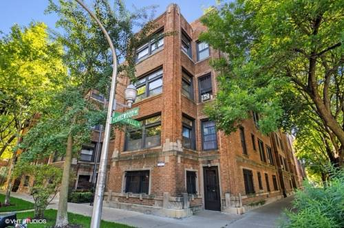 6834 N Lakewood Unit 2, Chicago, IL 60626 Rogers Park