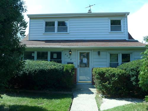 4444 N Narragansett, Harwood Heights, IL 60706
