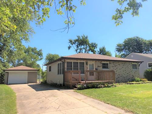 16819 Forest View, Tinley Park, IL 60477