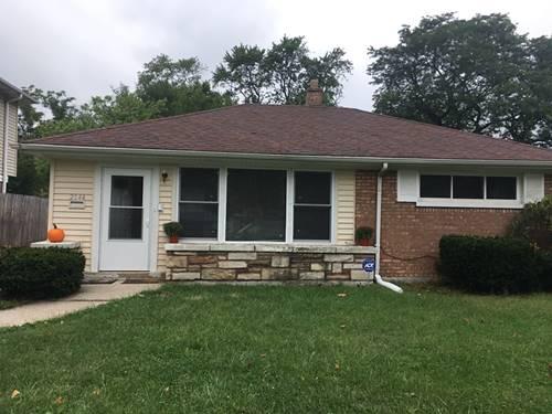 2144 Spruce, Homewood, IL 60430