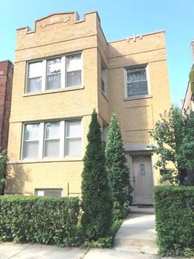 3220 N Hamlin, Chicago, IL 60618 Avondale