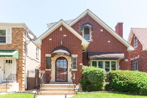 1849 N Natchez, Chicago, IL 60707 Galewood