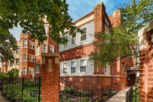 1238 W Albion, Chicago, IL 60626 Rogers Park
