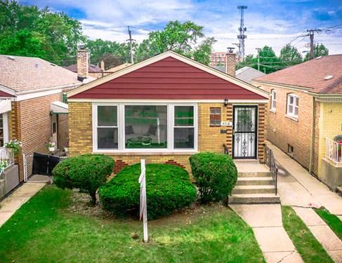 4718 S La Crosse, Chicago, IL 60638 Vittum Park