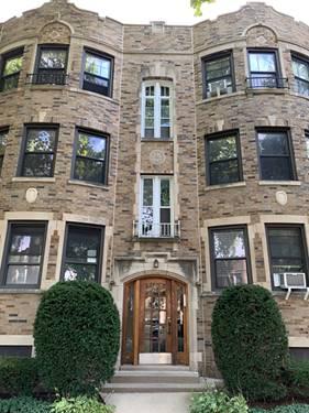 5903 N Artesian Unit 1, Chicago, IL 60659 West Ridge
