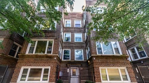 1507 W Jonquil Unit 2, Chicago, IL 60626 Rogers Park