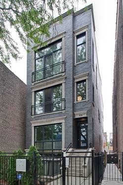 928 N Wolcott Unit 3, Chicago, IL 60622 East Village