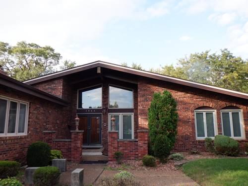 2933 Scott Crescent, Flossmoor, IL 60422