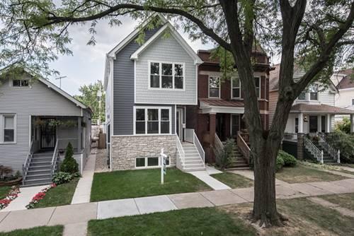 4137 N Lawndale, Chicago, IL 60618 Irving Park