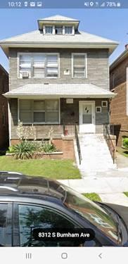 8312 S Burnham, Chicago, IL 60617 South Chicago