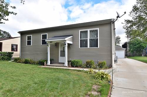 523 Lincoln, West Chicago, IL 60185