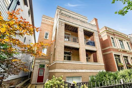 2650 N Mildred Unit 3, Chicago, IL 60614 Lincoln Park